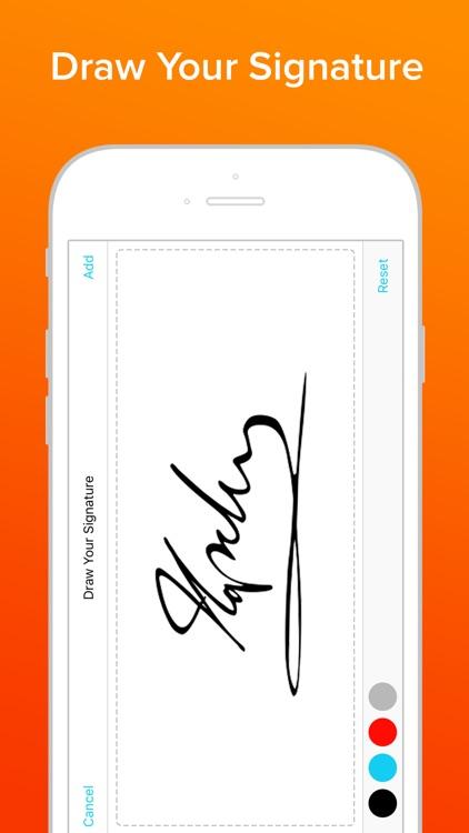 Signature •