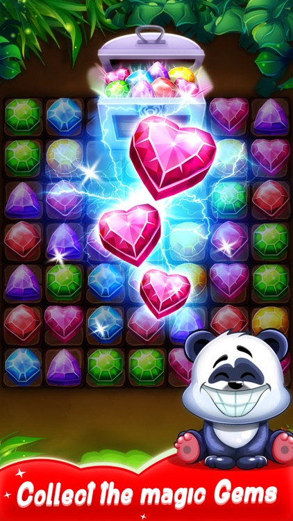 Panda Gems - Match 3 Game screenshot-4