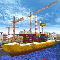 Real Port Crane Simulator 2018