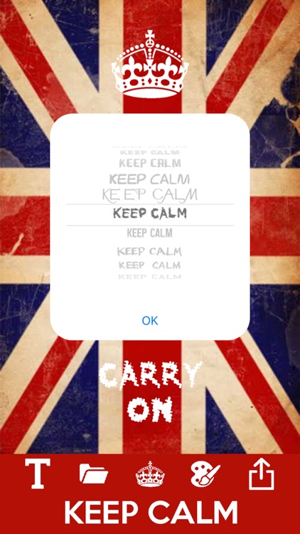 Keep calm and carry on maker screenshot-3