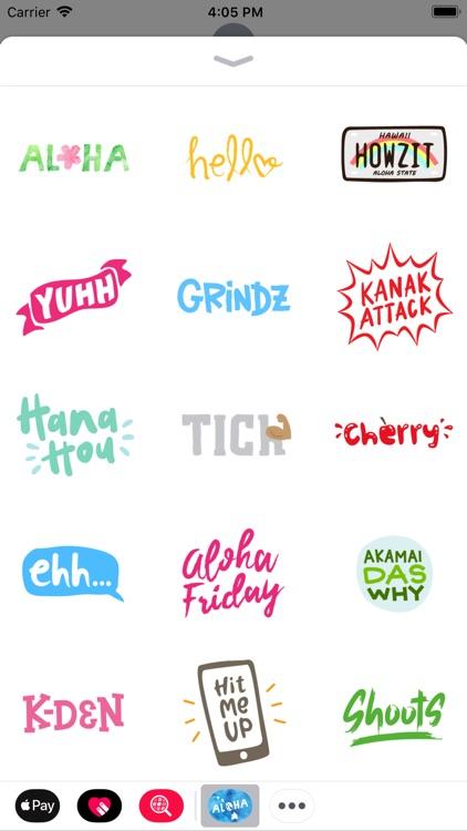Aloha Sticker Pack