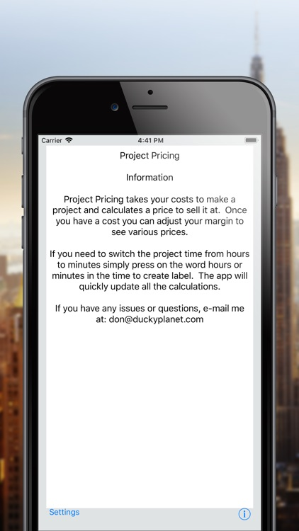 Project Pricing screenshot-4