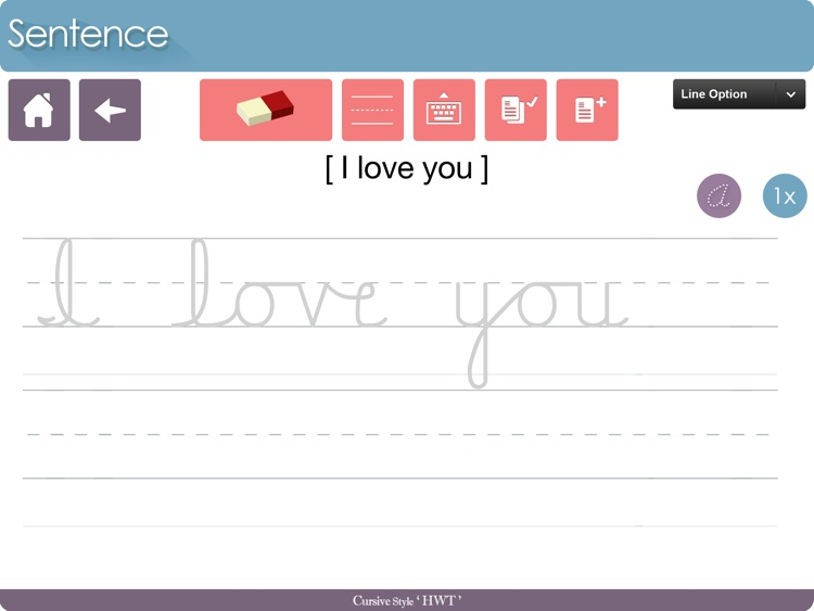 Cursive Writing HD HWT Style screenshot-4