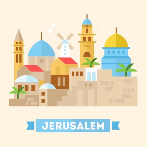Jerusalem Travel Guide Offline