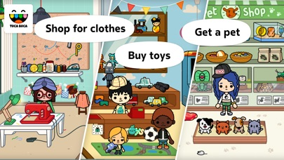 Screenshot for Toca Life: City in United States App Store