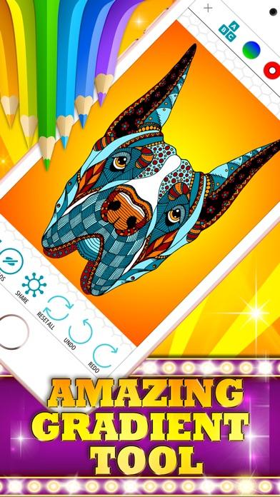 Colorizo erwachsene Färbung Buch Mandala FarbeScreenshot von 3