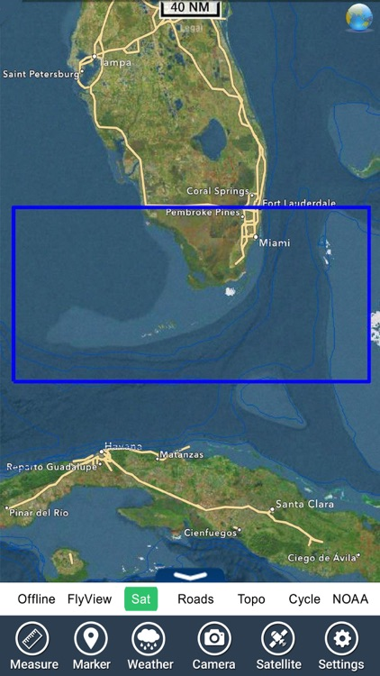Miami to Key West GPS HD Chart screenshot-4
