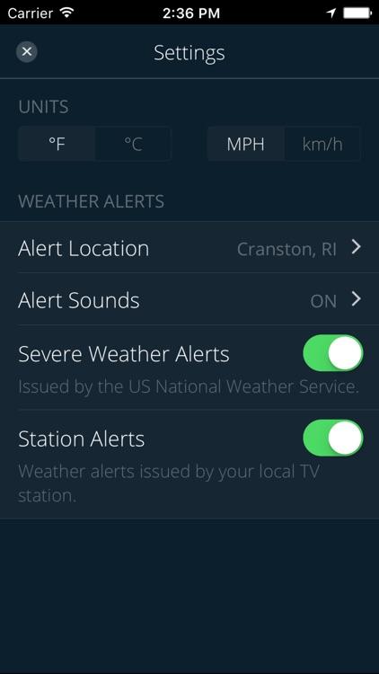 WJAR Radar screenshot-3