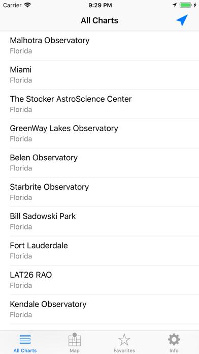 iCSC: Clear Sky Chart Viewer screenshot