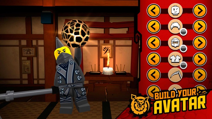THE LEGO® NINJAGO® MOVIE™ app Screenshot