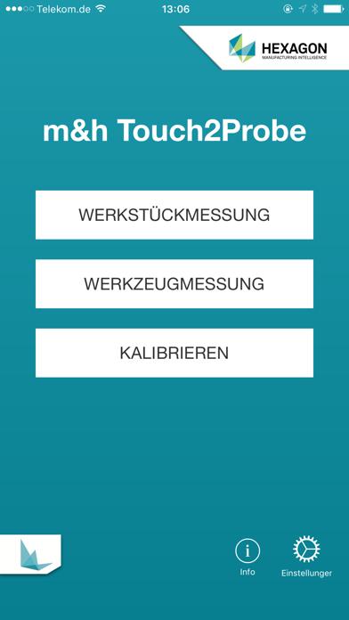 m&h Touch2Probe screenshot one