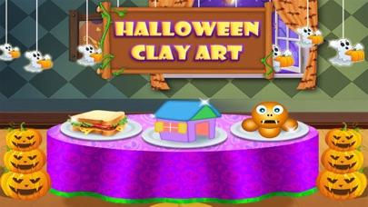 Halloween Clay Art screenshot one