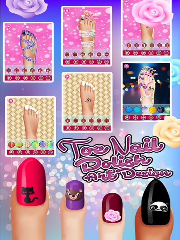 Toe Nail Polish Art Designs | App Price Drops
