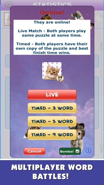 Word Search : Battle Cats screenshot-3