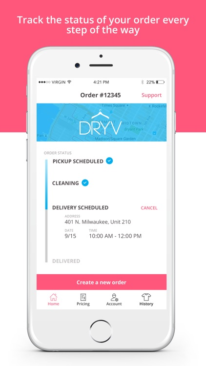 DRYV - Dry Cleaning & Laundry