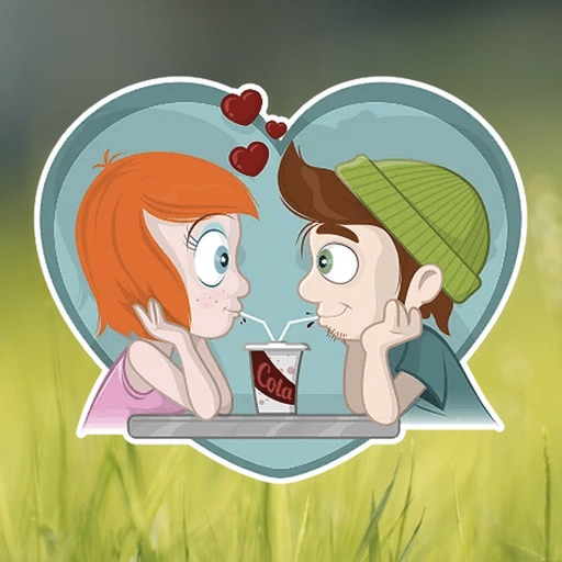 Young Love Stickers iOS App
