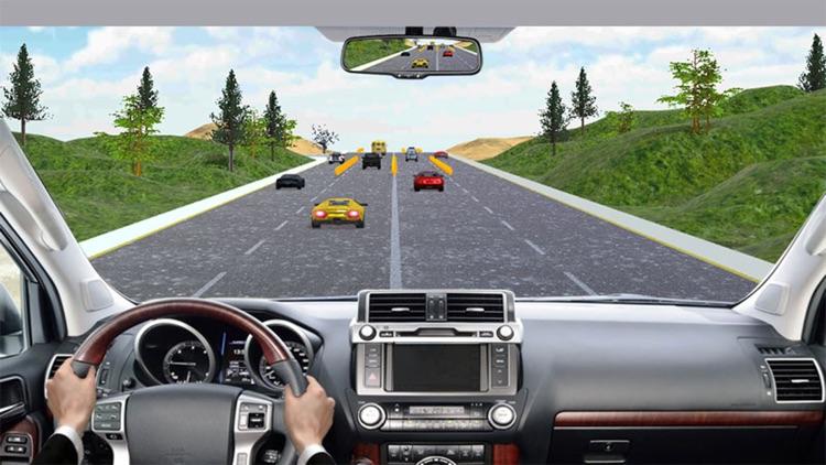Highway Prado Racing Game! screenshot-4