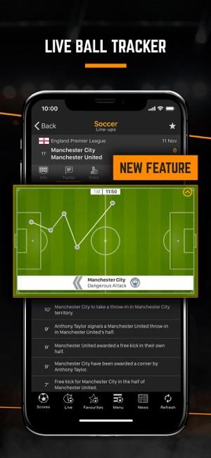 Livescore Live Sport Updates On The App Store