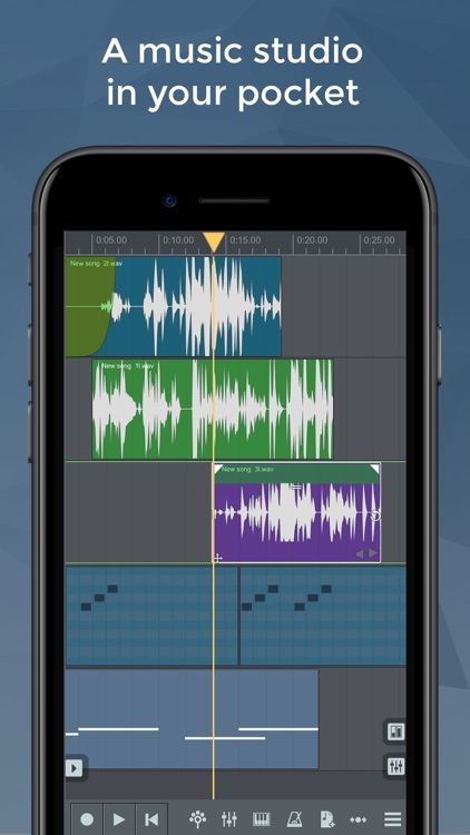 n-Track 8 Pro Music Recorder Studio screenshot-0