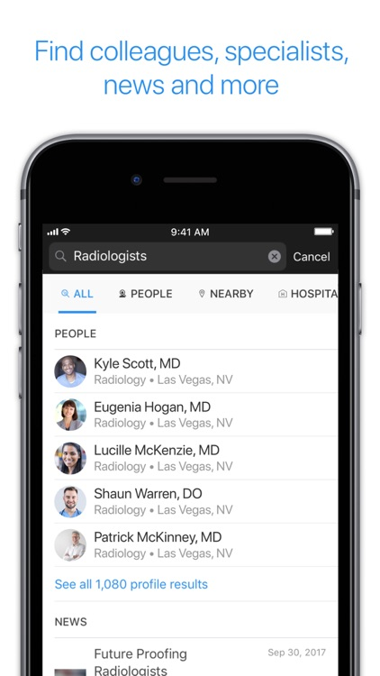 Doximity - Medical Network screenshot-1