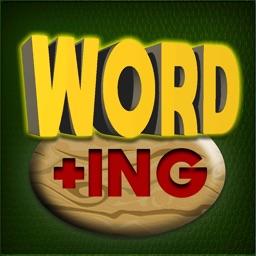 Word +ing: word puzzle game