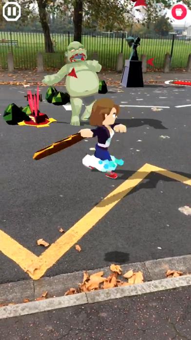 Screenshot of zombies! ARgh! App