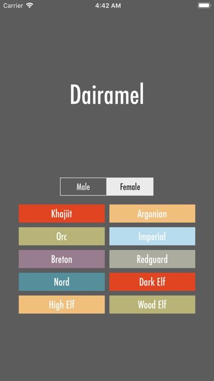 Dragonborn Name Generator by Pat Walsh