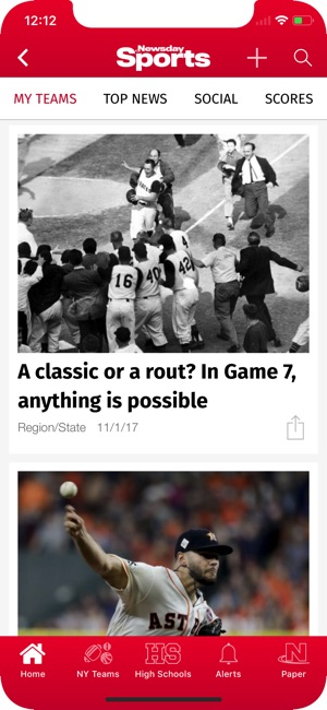 Newsday Sports on the App Store