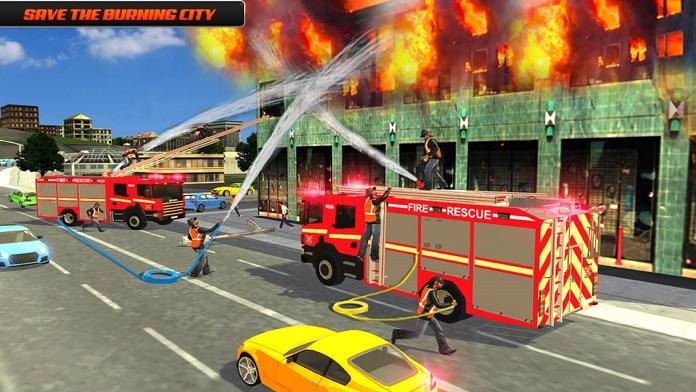 Road Truck Simulator 3D Games Screenshot