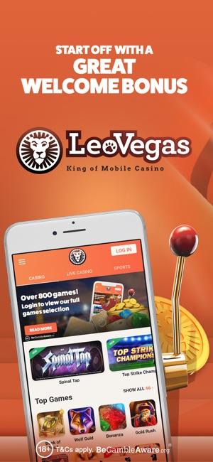 leovegas app store