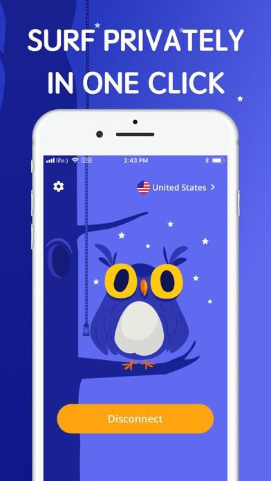 OWL VPN proxy master unlimited screenshot one