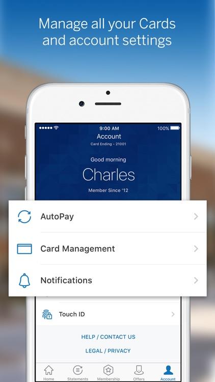 Amex Mobile screenshot-0