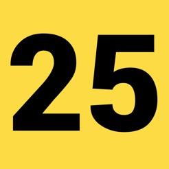 1 tot 25 Nummer Spel