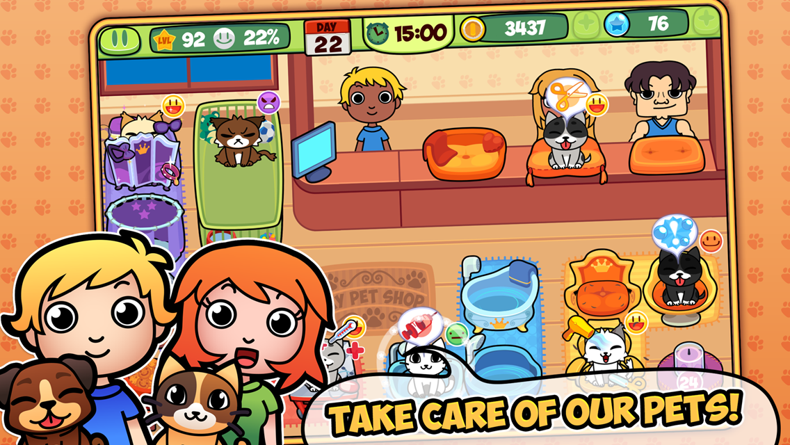My Virtual Pet Shop Screenshot