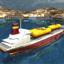 Oil Tanker Cargo Ship Sim 3D