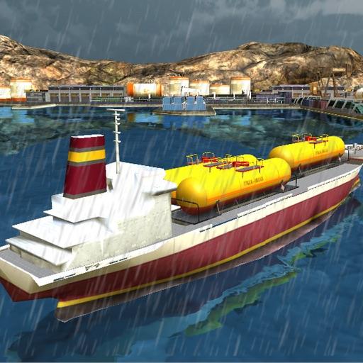 Oil Tanker Cargo Ship Sim 3D