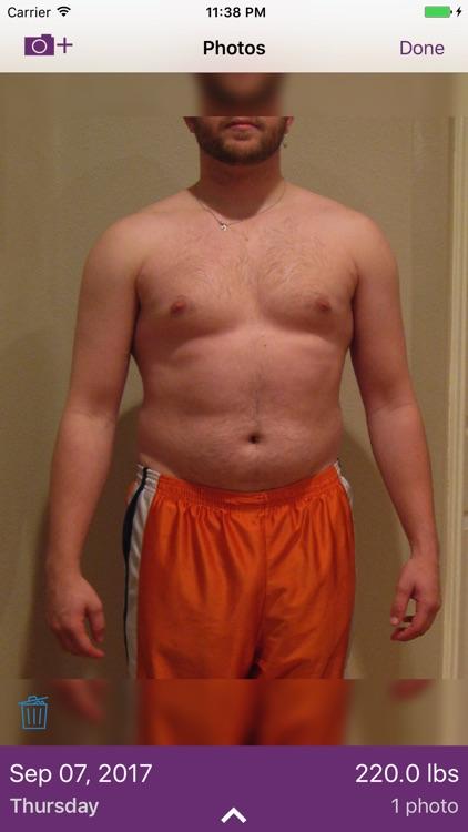 Model My Diet - Men - Weight Loss Motivation screenshot-4