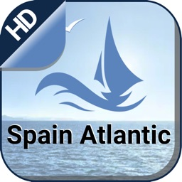 Spain Atlantic offline nautical charts for boating