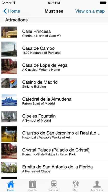 Madrid Travel Guide Offline screenshot-3