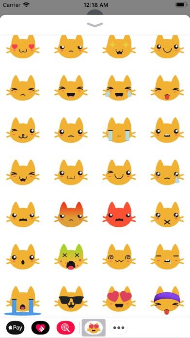 screenshot 3 for kitty emoji stickers