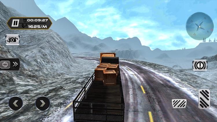 Extreme Truck Driver Uphill - Crazy 3D Sim 2017 screenshot-3