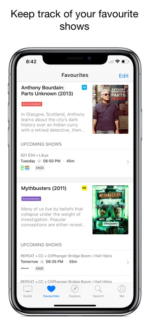 ‎TV Guide Australia: AusTV on the App Store