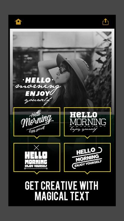 Word Dream - Cool Fonts & Typography Generator screenshot-3
