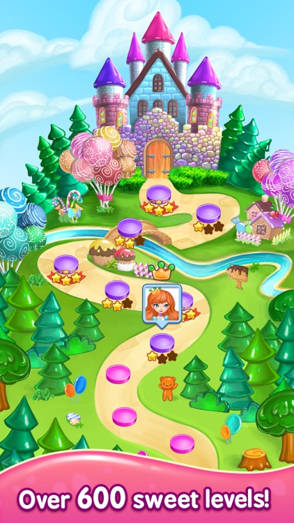 Gummy Gush: Match 3 Puzzle screenshot-2