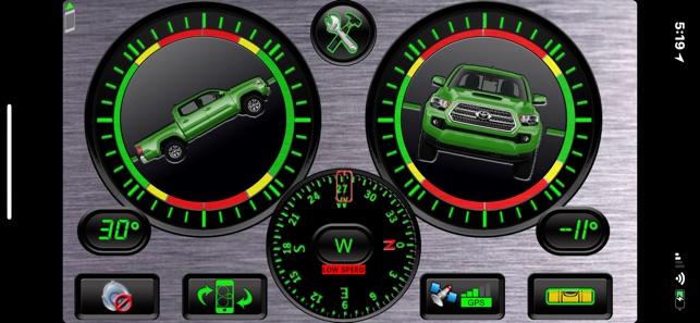 Vehicle Clinometer