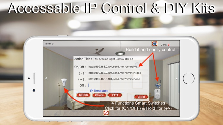 HOS Smart Home IP Control screenshot-5