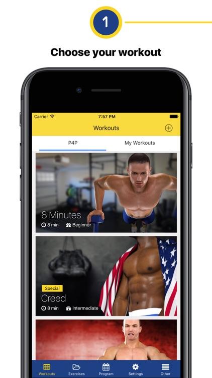 Chest workout – 4 week program
