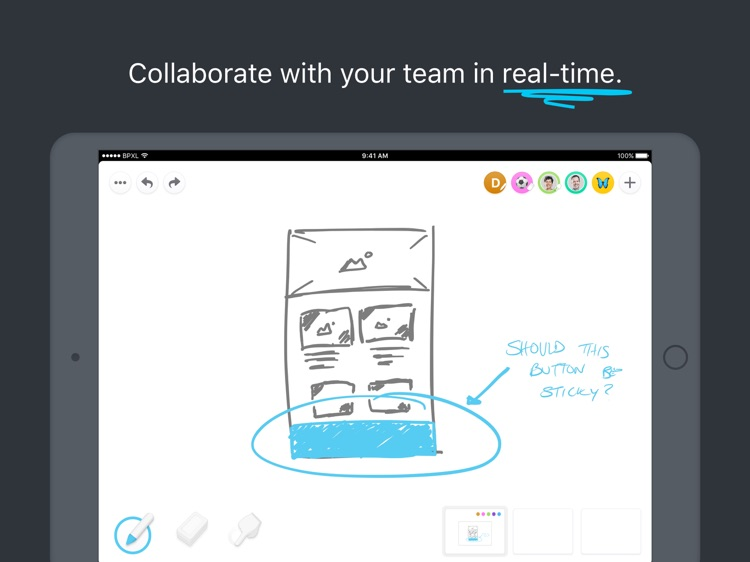 Pixelboard - Sketch Together screenshot-0
