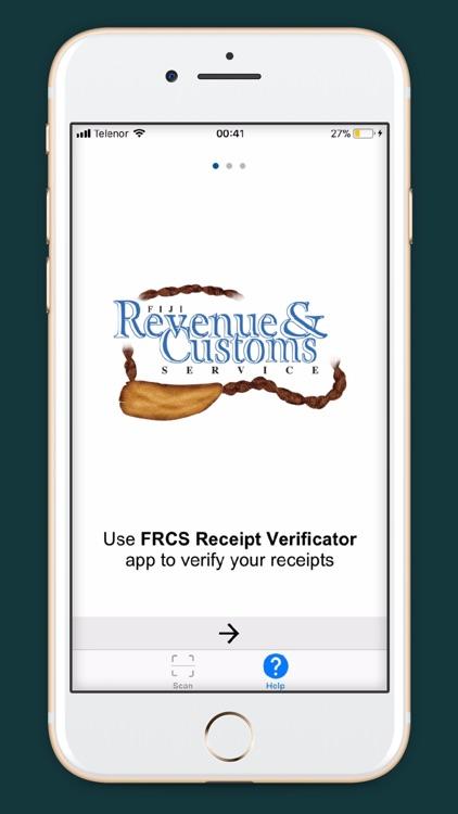 FRCS Receipt Verificator