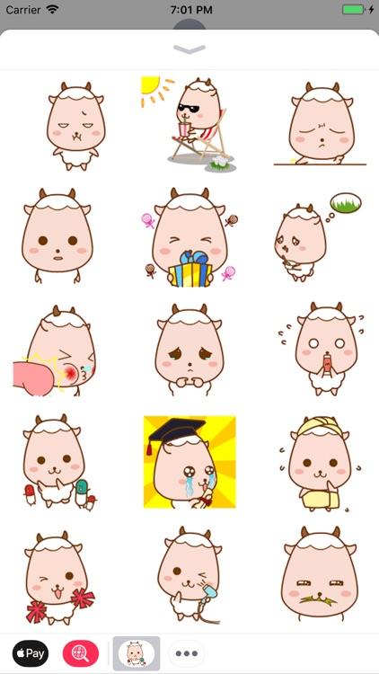 Baby Sheep Stickers Fun